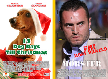 12 Dog days Till Christmas early one sheet.